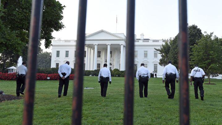 Weißes Haus: Secret Service erwägt Checkpoints