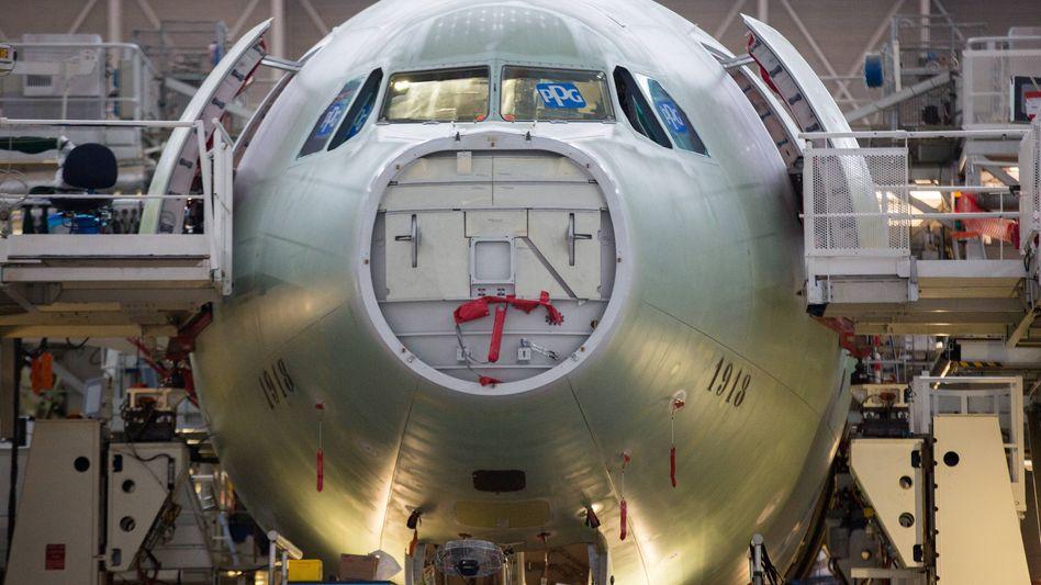 Airbus-Produktion in Frankreich (Archivbild)
