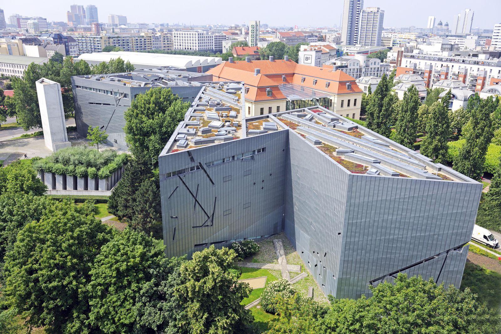 EINMALIGE VERWENDUNG Jüdisches Museum Berlin