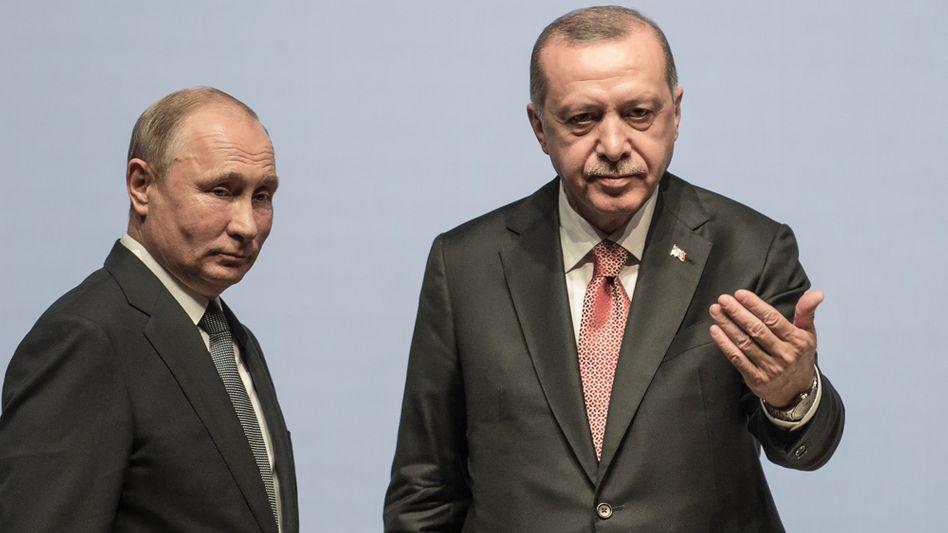Die Autokraten Putin und Erdoğan sind die heimlichen Herrscher über Libyen