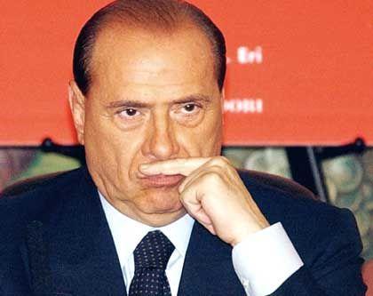 Fühlt sich verletzt: Berlusconi