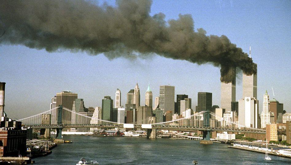 Rauchschwaden aus dem World Trade Center am 11. September 2001: Vorwürfe gegen Iran