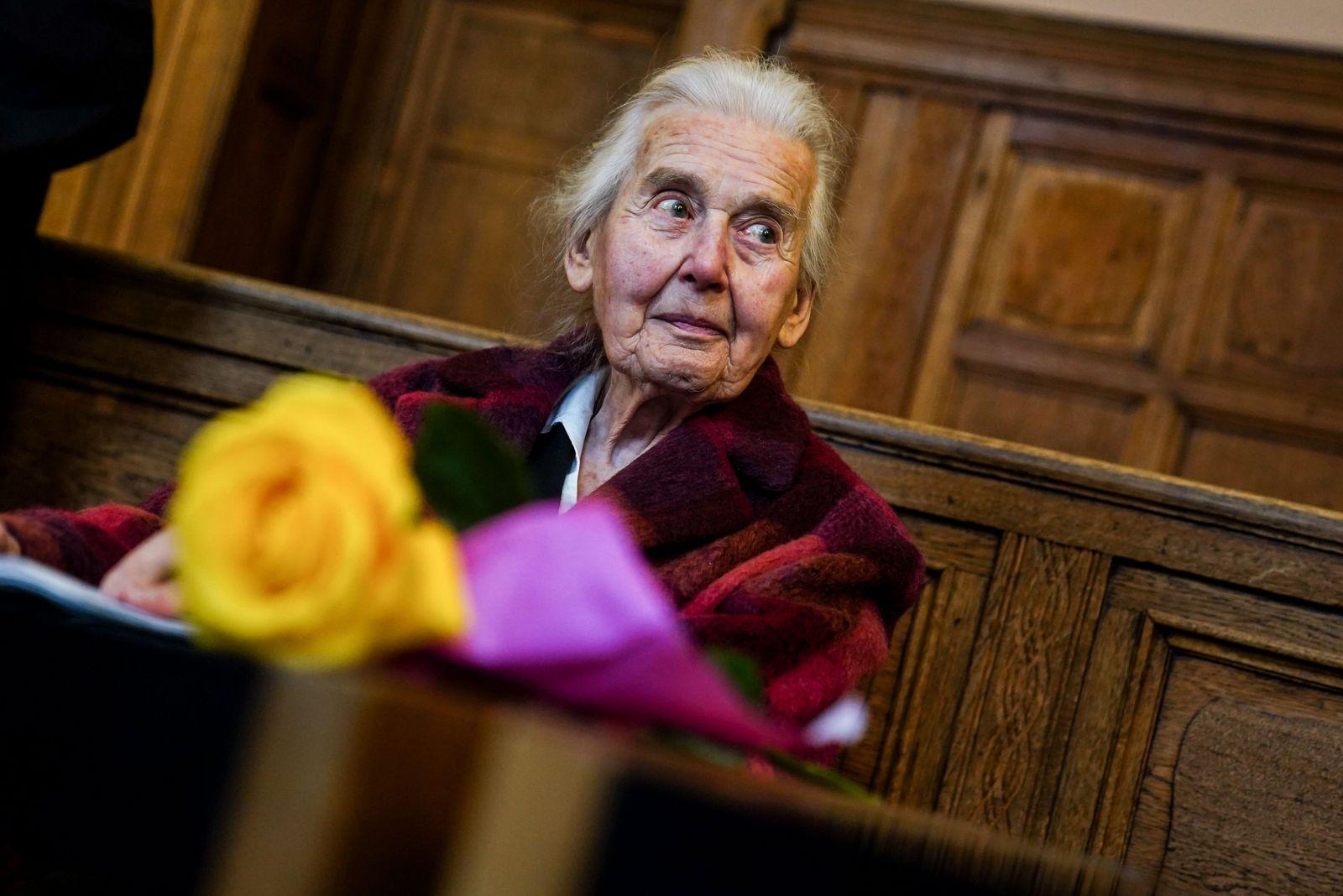 Trial against The Holocaust denier Ursula Haverbeck, Berlin, Germany - 17 Nov 2020