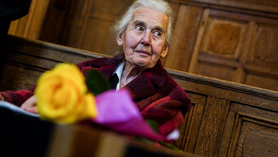 Ursula Haverbeck vor Gericht in Berlin: »Ich habe überhaupt nichts geleugnet«
