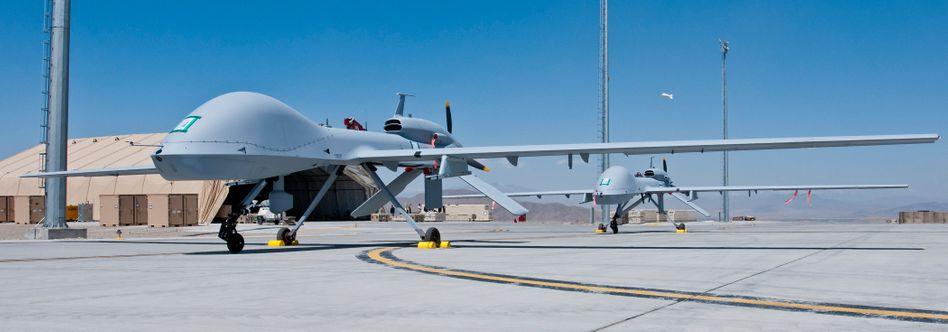 US-Drohne in Afghanistan: Ehre ohne Risiko für Leib und Leben