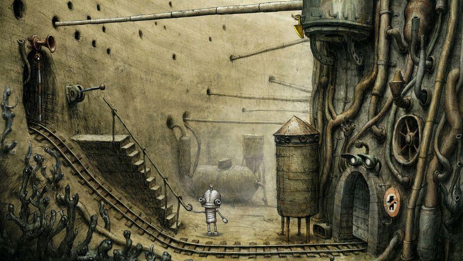 """""""Machinarium"""": Eins von fünf Indie-Spielen im """"Humble Bundle"""""""