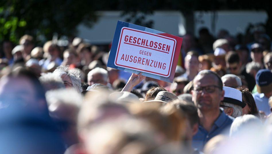 """Kundgebung für Walter Lübcke in Kassel (am Donnerstag): """"Geschlossen gegen Ausgrenzung"""""""