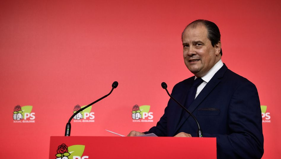 Jean-Christophe Cambadelis in Paris