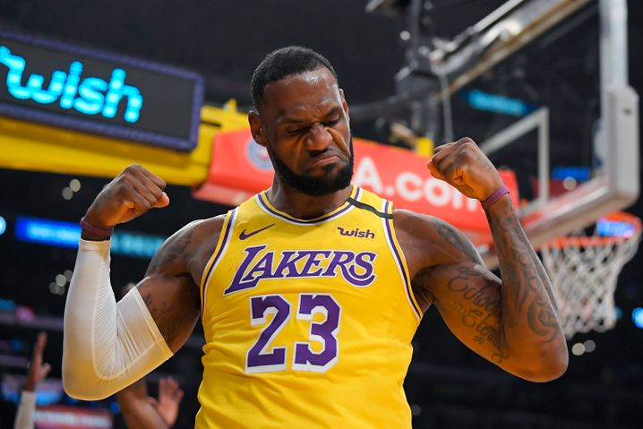 Lakers-Superstar LeBron James ist 35 Jahre alt – aber immer noch einer der besten NBA-Spieler