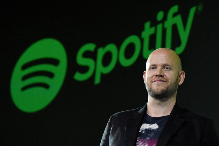 Daniel Ek, Chef des schwedischen Musik-Streamingdienstes Spotify