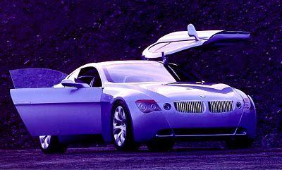 Fügel- und Schwingtür in einem kombiniert: BMW Z9 Gran Turismo