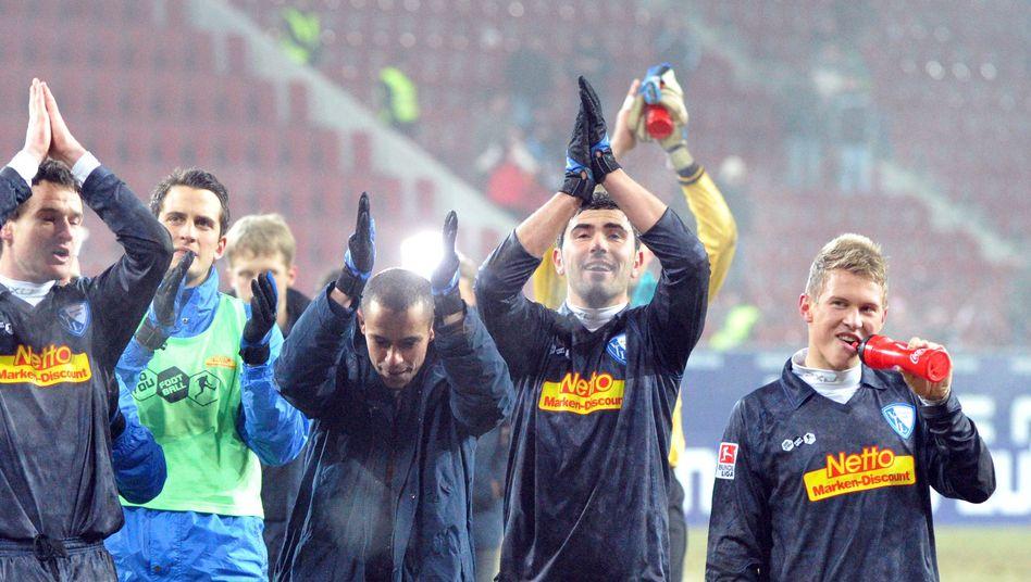 Freude beim VfL Bochum: Das 1:0 in der 84. Minute sorgte für den siebten Sieg in Folge
