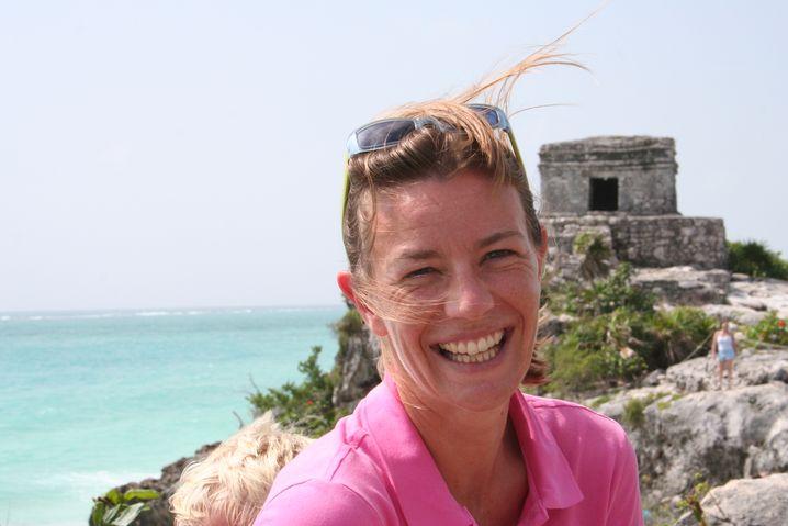 Auch Luise Gutsche folgte ihrem Mann ins Ausland. Erst nach Mailand und Mexiko-Stadt, bald nach Shanghai