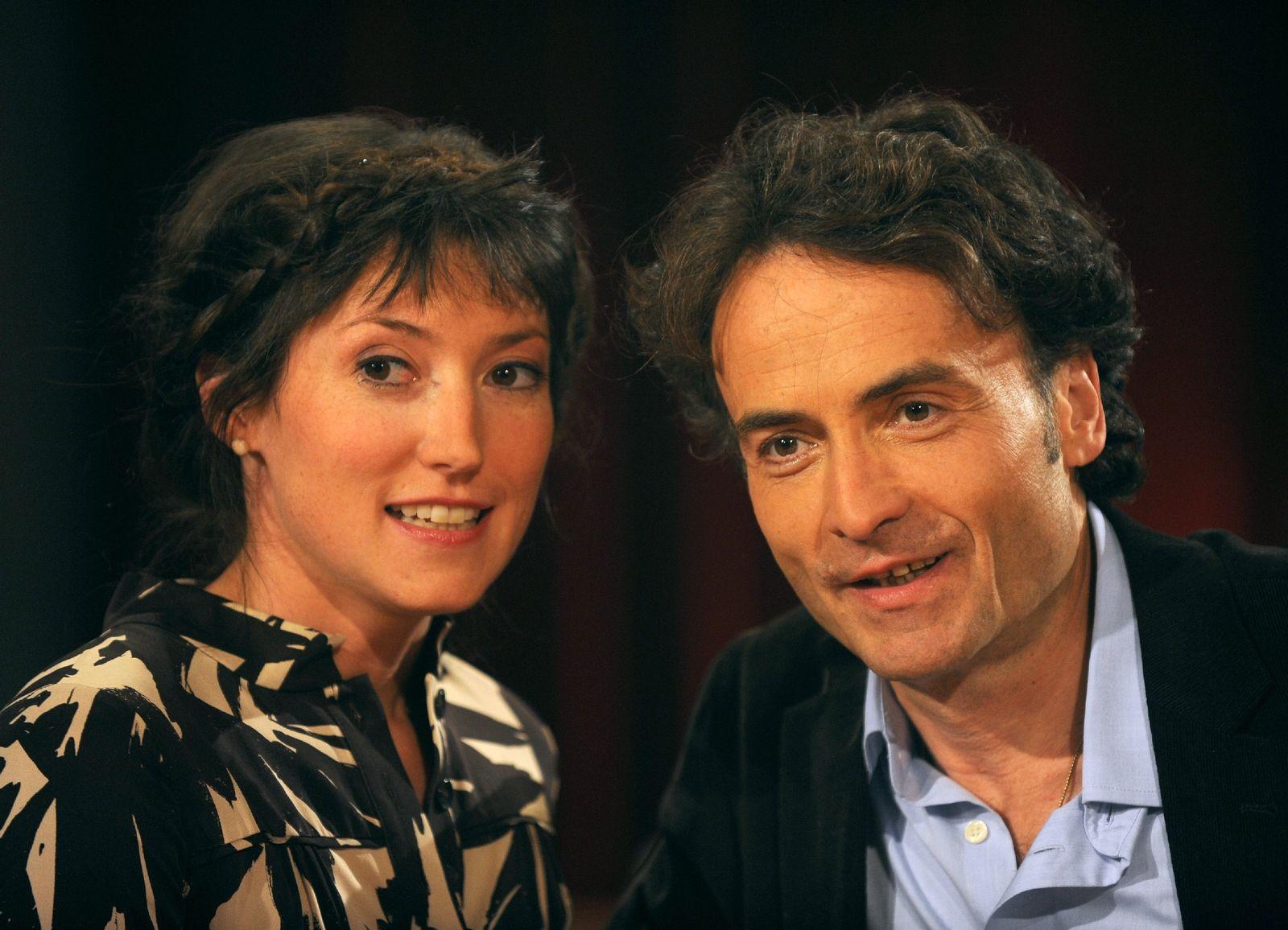 3nach9-Moderatoren Charlotte Roche und Giovanni di Lorenzo