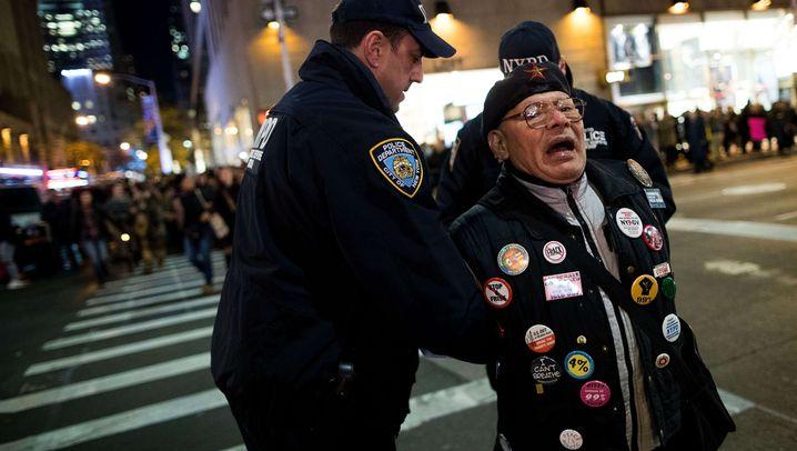Anti-Trump-Proteste: Demonstrationen landesweit