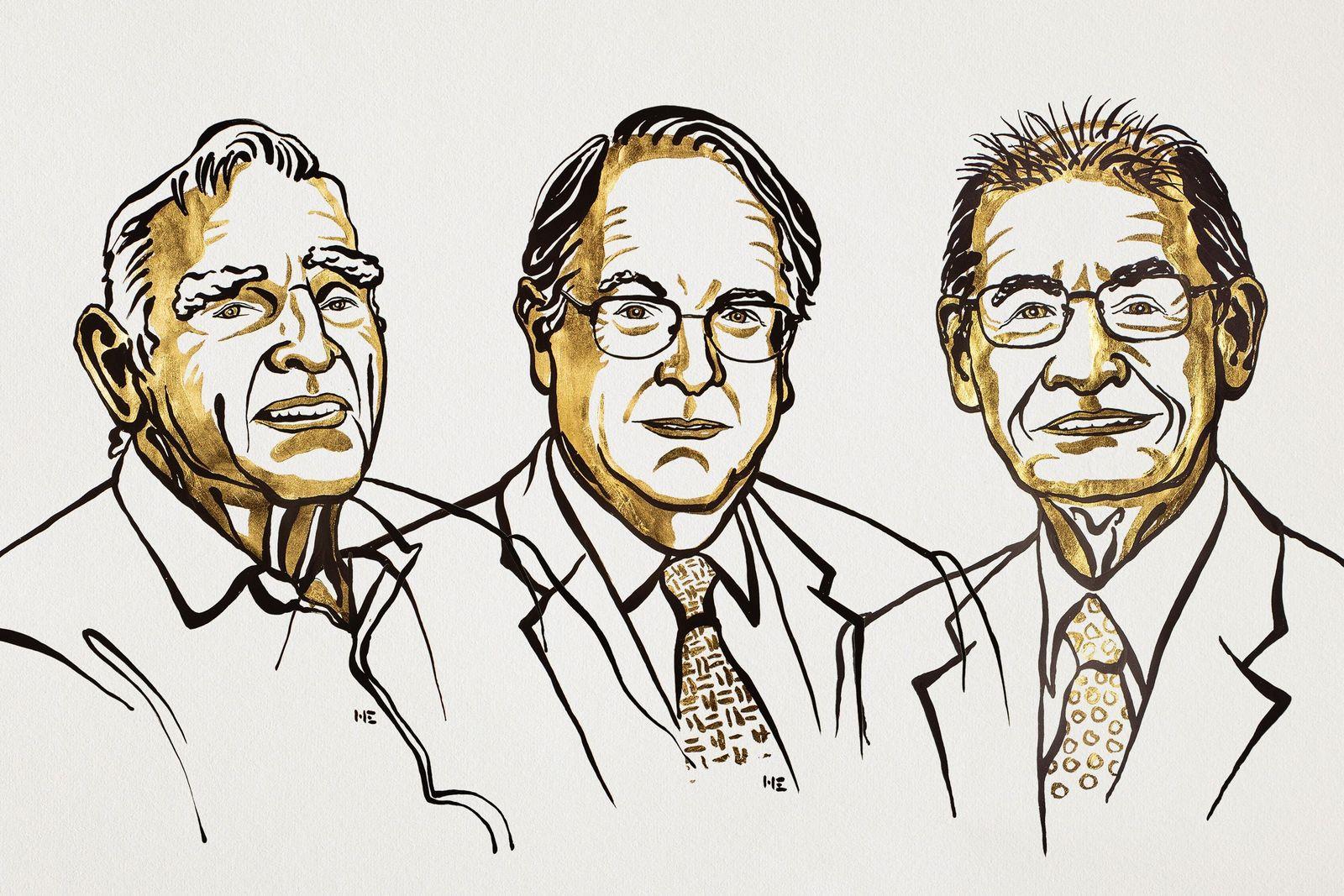 EINMALIGE VERWENDUNG Nobelpreis Gewinner Chemie