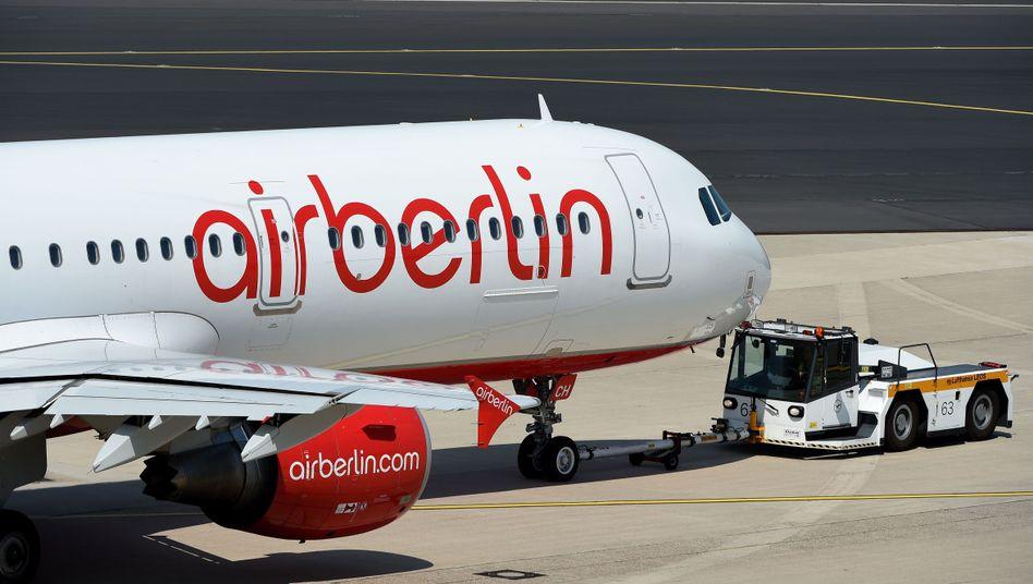 Air-Berlin-Maschine: Gemeinschaftsflüge mit Etihad teilweise verboten