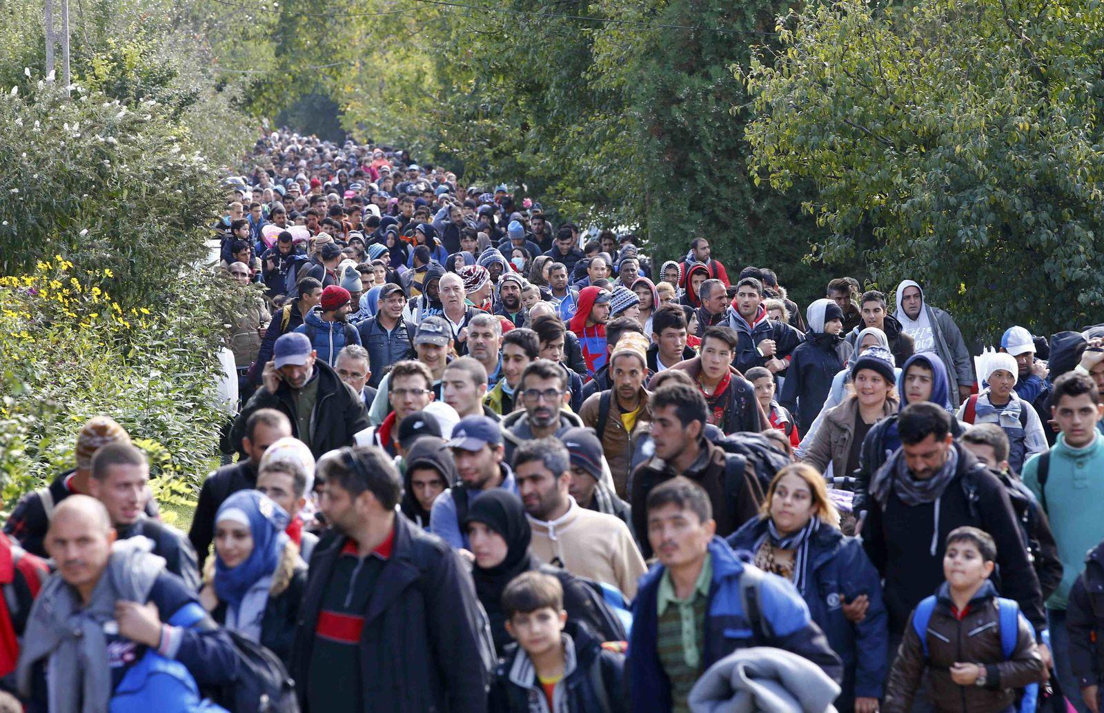 Flüchtlinge/ Ungarn