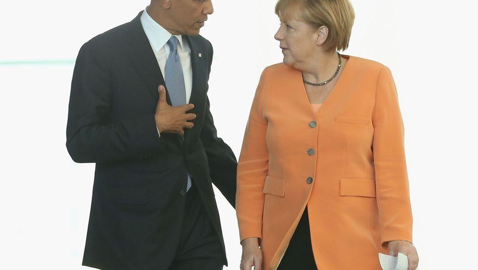 US-Präsident Obama, Kanzlerin Merkel: Kein Freundschaftsrabatt zu erwarten