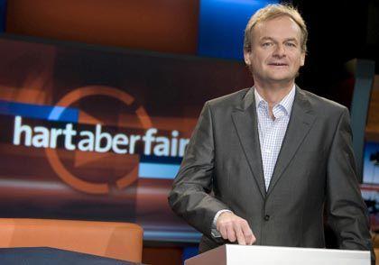 """""""Hart aber fair""""-Moderator Plasberg: """"So was nennt man Altersteilzeit"""""""