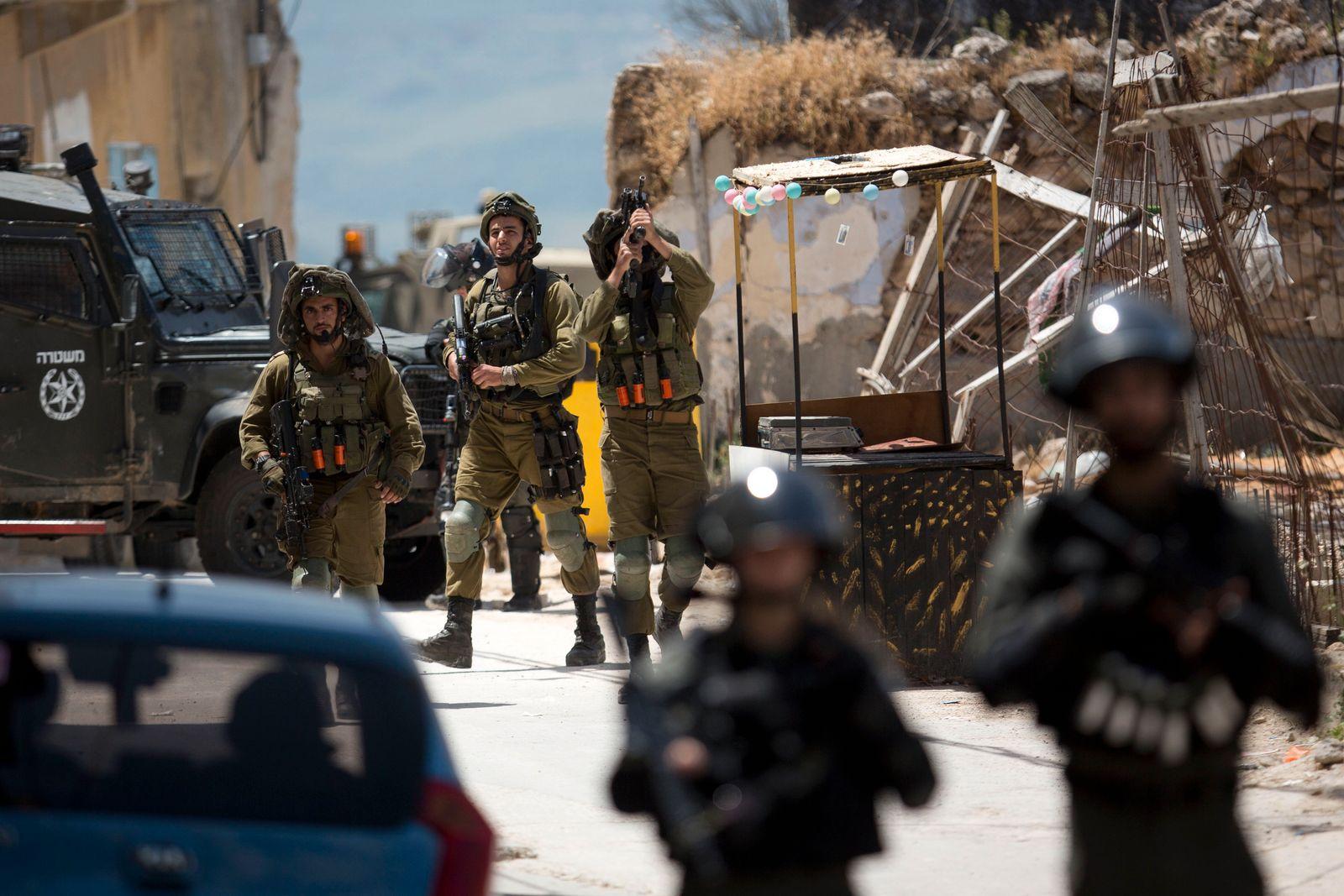 Israelischer Soldat bei Einsatz im Westjordanland getötet