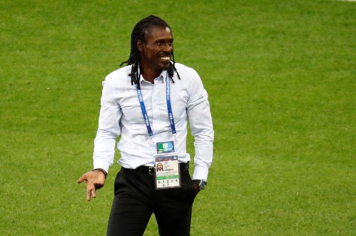 Cissé nach dem 2:1 gegen Polen