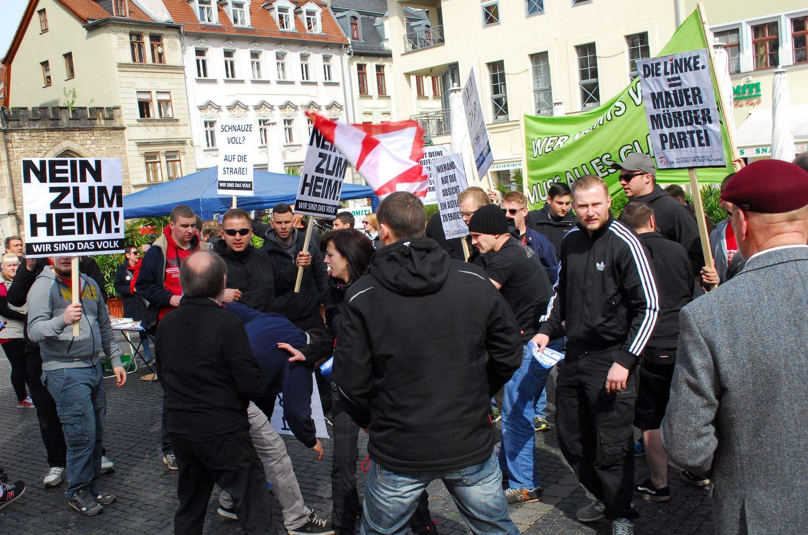 Maikundgebung/ Weimar