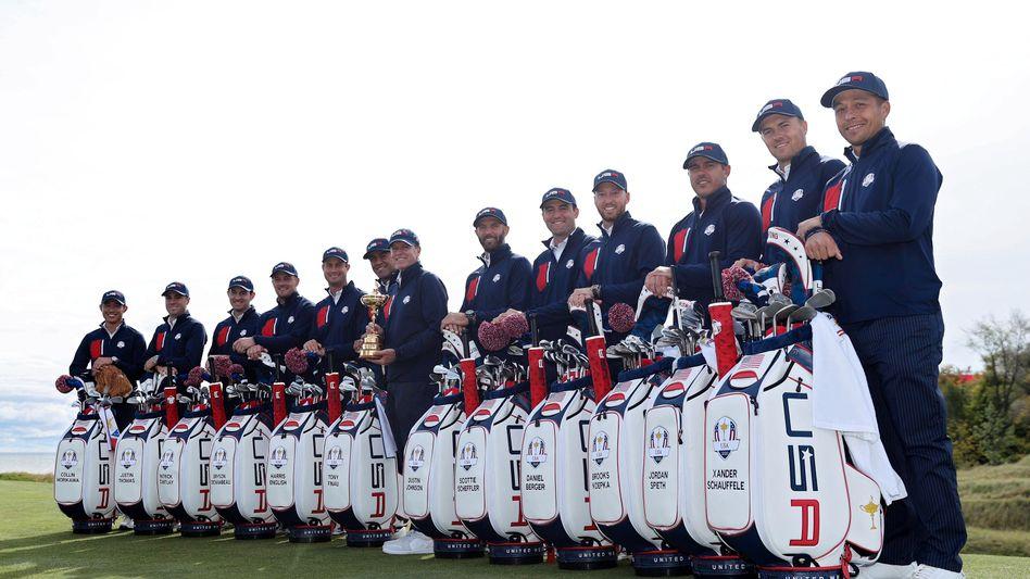 Das »Team USA« für den Ryder Cup