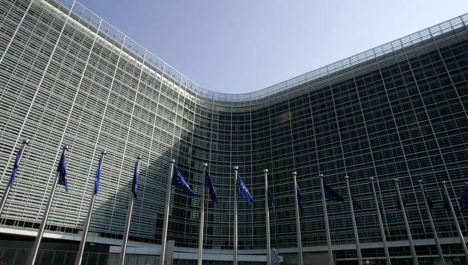 Hauptgebäude der EU-Kommission in Brüssel: Deutschlands Beitrag gestiegen