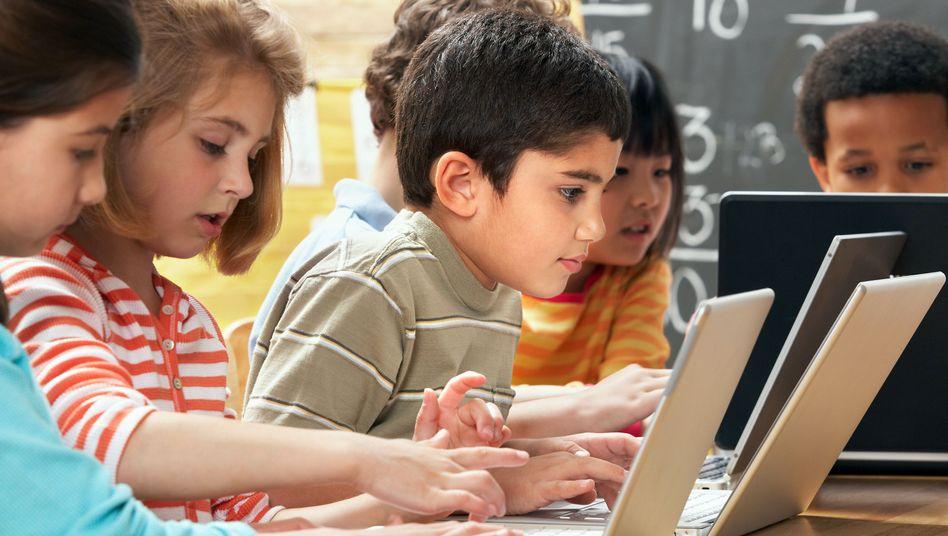Schulkinder in Virginia, USA: Die neue Zusammensetzung bringt Probleme mit sich - und Chancen