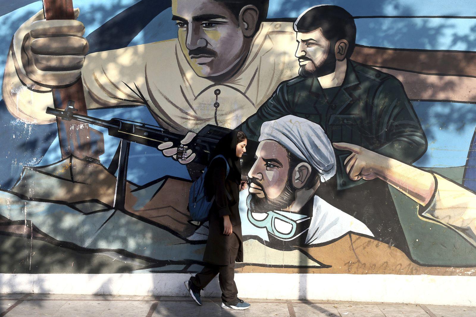 Iran / Iranerin / Teheran