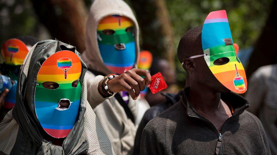 """Protest von Homosexuellen in Uganda: """"Wir haben gewonnen"""""""