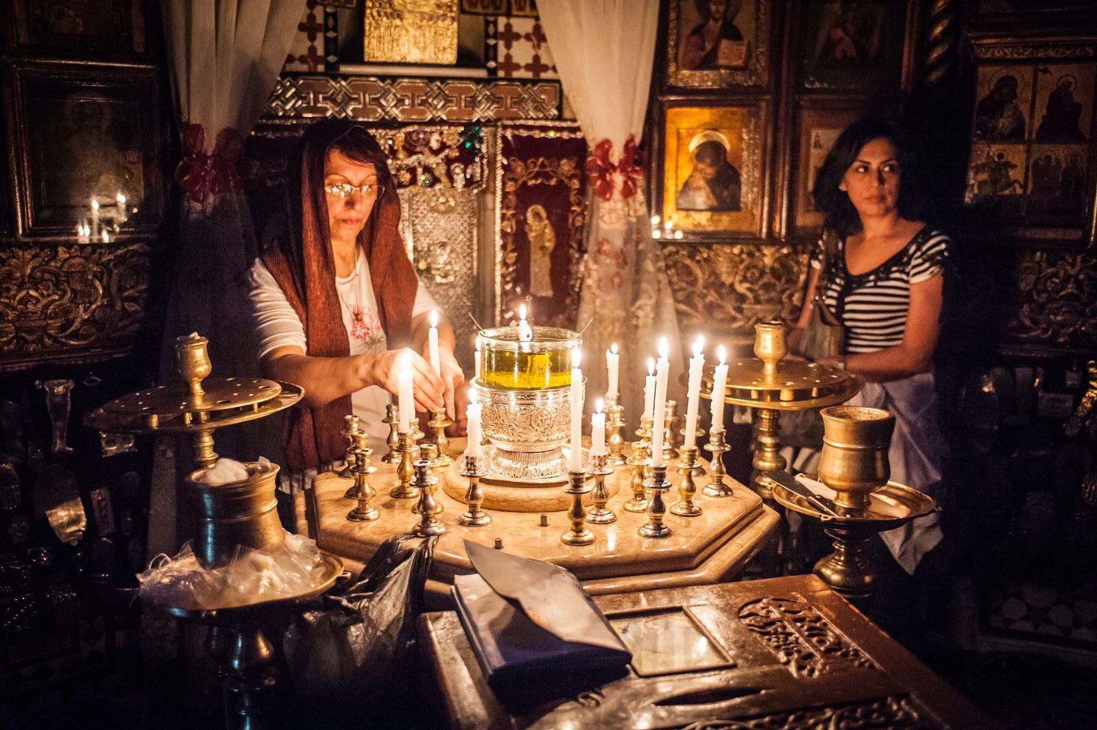 EINMALIGE VERWENDUNG Kloster Sednaya