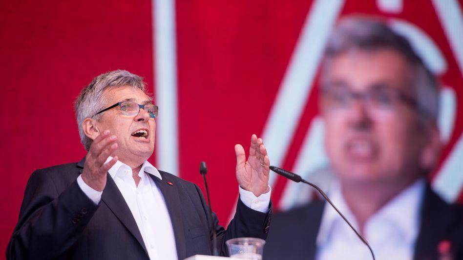 IG-Metall-Chef Jörg Hofmann