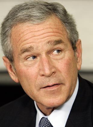 US-Präsident Bush: Düstere Stimmung im Weißen Haus