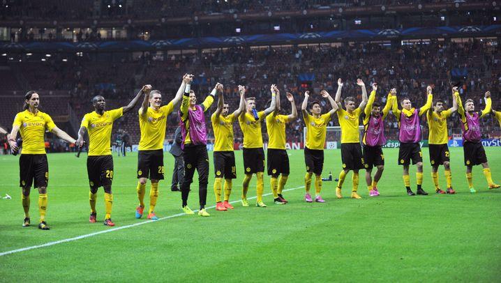 Dortmunder Sieg in Istanbul: Borussen-Jubel am Bosporus