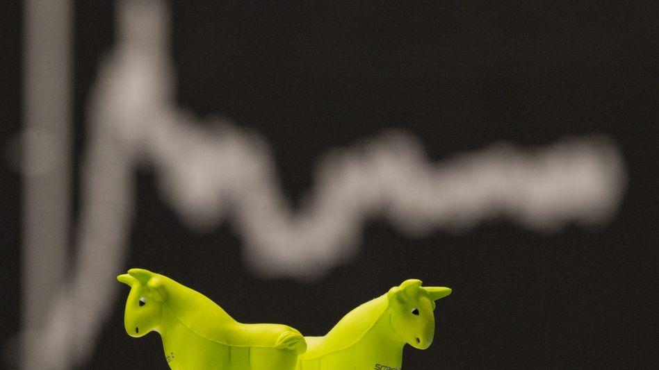 Frankfurter Börse: Lieber Eigentümer von Unternehmen als Gläubiger von Banken