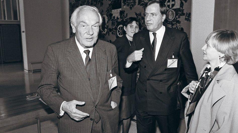 Firmenchefs Kaske, Kopper 1990: Äußerste Diskretion