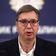 Serbiens Präsident Vucic nimmt angekündigte Ausgangssperre zurück