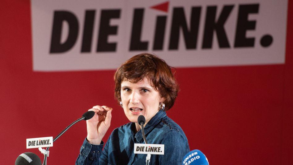 Die Vorsitzende der Partei Die Linke, Katja Kipping