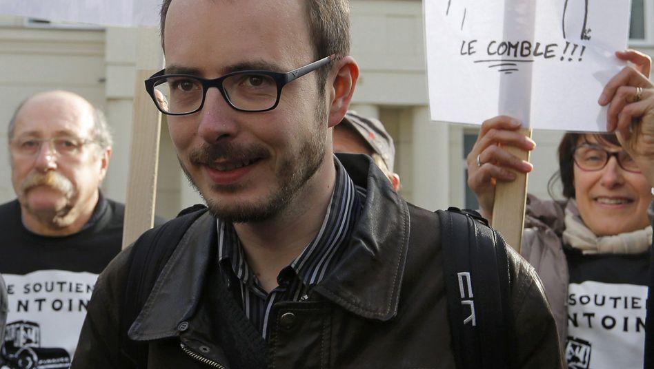 Der ehemalige PwC-Angestellte Antoine Deltour