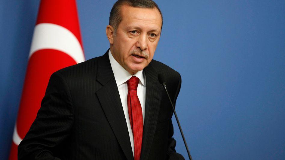 Türkischer Regierungschef Erdogan: Botschafter aus Paris abgezogen