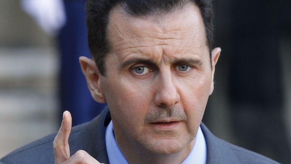 Syrischer Machthaber Assad: Politische Konzessionen zur Beruhigung des Aufstandes