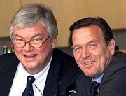 Durchgesetzt: Hombach und Schröder