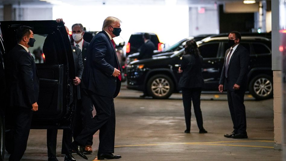 Donald Trump besucht seinen Bruder im Krankenhaus