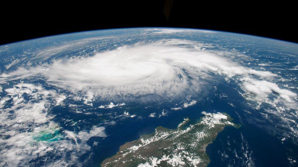"""Hurrikan """"Dorian"""" am 30. August: Die Eigenschaften von Tropenstürmen verändern sich infolge des Klimawandels - und nicht zum Besseren"""