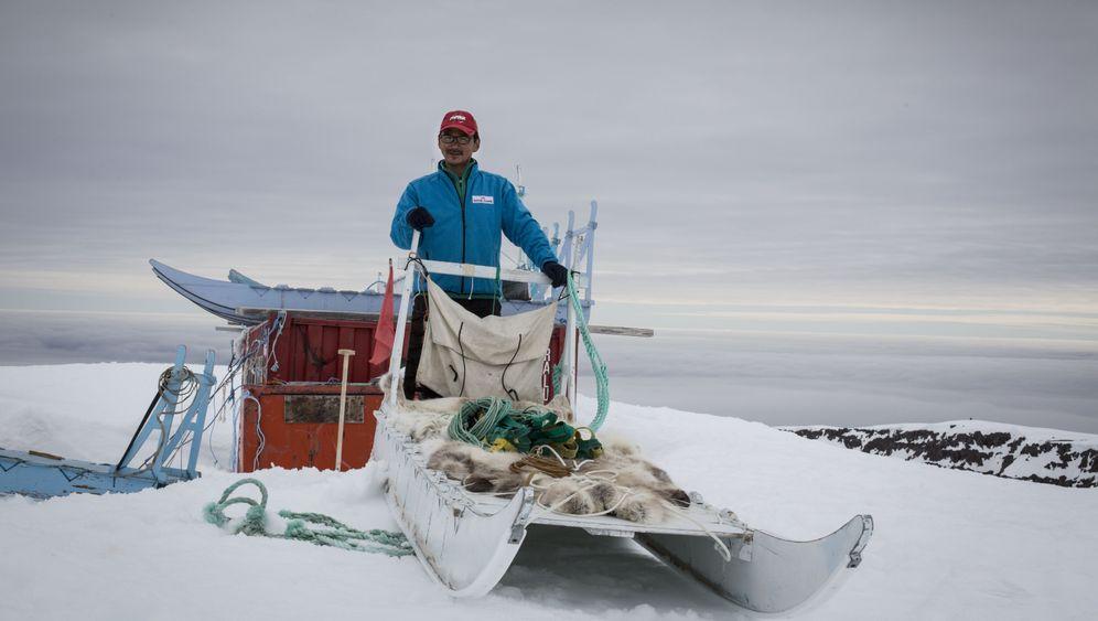 Hundeschlitten-Fahrt in Grönland: Sommer auf dem Gletscher