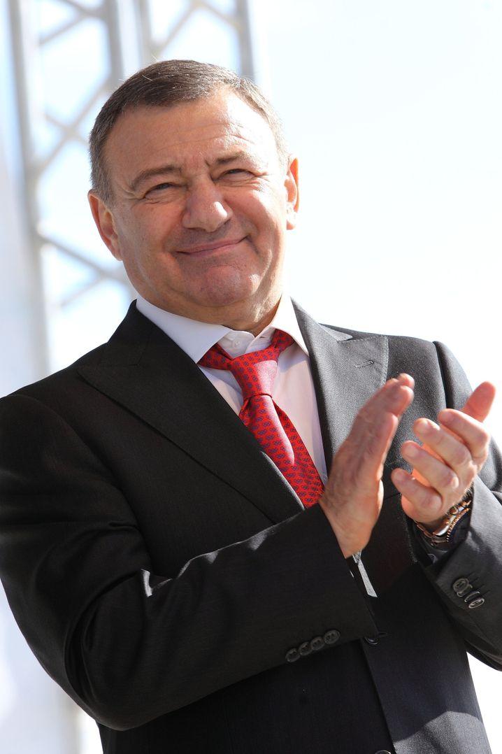 Putin-Bekannter Arkadij Rotenberg