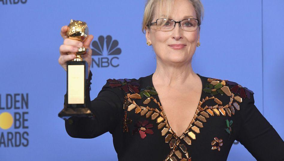 "Meryl Streep überDonald Trump: ""Gewalt animiert zu Gewalt"""