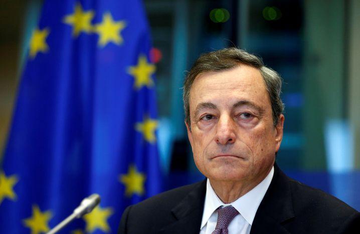 EZB-Präsident Mario Draghi geht Ende Oktober